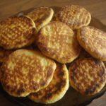 Кокосовое печенье на сковороде