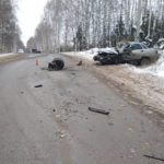 В Вятскополянском районе в результате столкновения «ВАЗа» и «Вольво» пострадали два человека