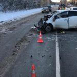 В Слободском районе столкнулись «Тойота» и «Киа»: пострадали два человека