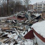 В Кирове предприниматель снес незаконно построенную «шашлычную»