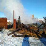В Афанасьевском районе на пожаре в доме погибла женщина