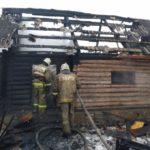 За два дня в Кировской области во время пожаров погибли четыре человека