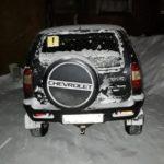 В Белохолуницком районе женщина-водитель «Шевроле Нива» сбила пешехода