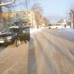 В Кирово-Чепецке женщина-водитель «Рено» сбила пешехода