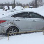 В Кирове в столкновении двух иномарок пострадал мужчина