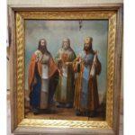 В Вятских Полянах мужчина с женщиной украли икону из храма монастыря