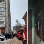 В Кирове из-за пожара в многоэтажном доме эвакуировали более 30 человек