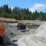 В Фаленском районе возбуждено уголовное дело по факту незаконной добычи полезных ископаемых
