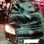 В Юрьянском районе отпавшее на ходу колесо у «Газели» разбило две встречные машины