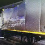 В Орловском районе в результате столкновения двух грузовиков пострадал один человек