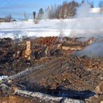 В Верхнекамском районе на пожаре в доме погиб мужчина