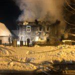 В Кирове пожар в доме унес жизни нескольких человек