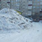 В Кировской области могут ввести штрафы за сброс снега на дорогу и тротуары